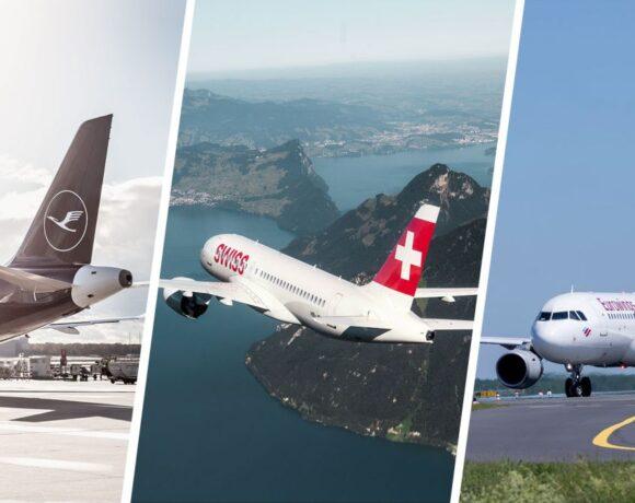 Lufthansa Group: Crete Among 106 Destinations of June Flight Schedule