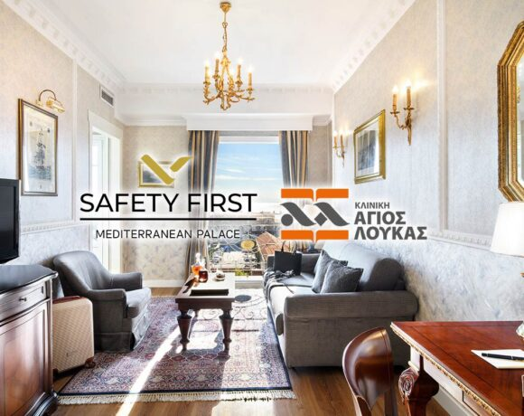 Mediterranean Palace Hotel Puts 'Safety First' with New Hygiene Standard