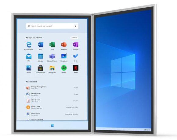 Windows 10X: Η Microsoft επικεντρώνεται σε συσκευές με μια οθόνη