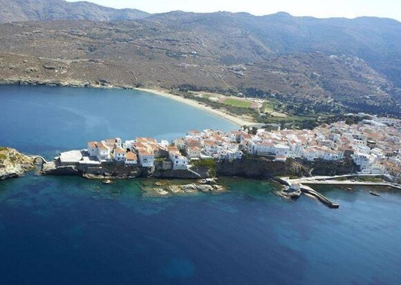Andros is Most Crowd-free Island in Europe, Says The Sunday Times