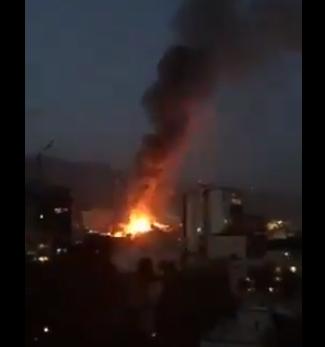 Έκρηξη στην Τεχεράνη: Για πυρκαγιά σε νοσοκομείο κάνουν λόγο οι αρχές