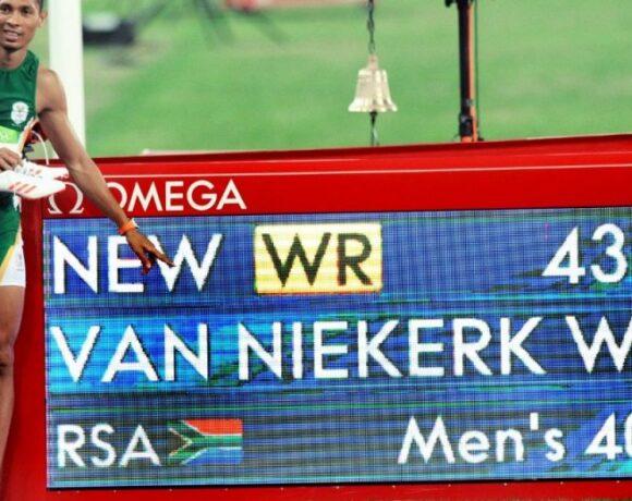 Βαν Νίκερκ: «Έκλαιγα και πονούσα πριν το παγκόσμιο ρεκόρ»