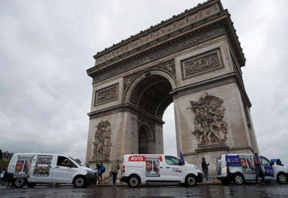 Γαλλία : Διαμαρτυρία αστυνομικών επειδή απαγορεύτηκε η λαβή στο λαιμό