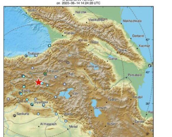 Δυνατός σεισμός στην Τουρκία