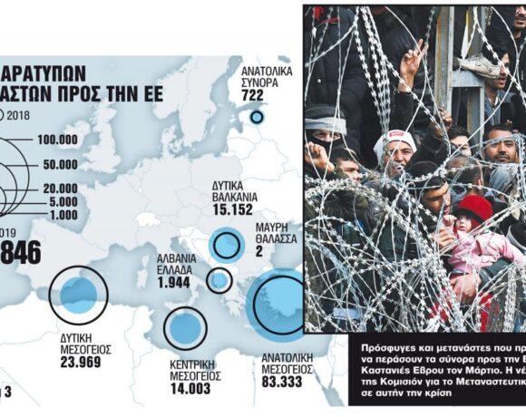 Ευρώπη – φρούριο με έμπνευση από τον Εβρο: Το σχέδιο για τη μετανάστευση