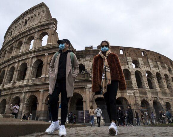 Ιταλία: Μικρή αύξηση των κρουσμάτων κορωνοϊού