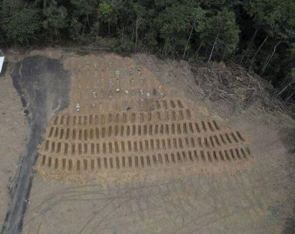 Κοροναϊός – Βραζιλία : Στους 55.961 οι νεκροί και στο 1.274