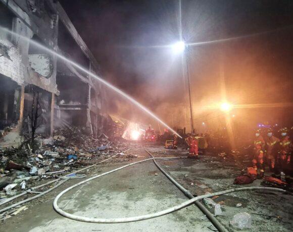 Τραγωδία στην Κίνα: Τουλάχιστον 19 οι νεκροί από έκρηξη βυτιοφόρου
