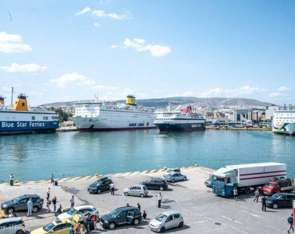 Greek Port Authorities Heighten Security Checks on Board Ferries