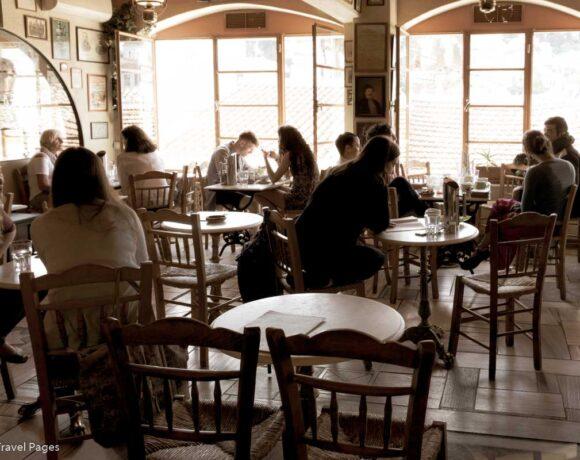 Restaurants, Cafes in Greece Open Indoor Areas