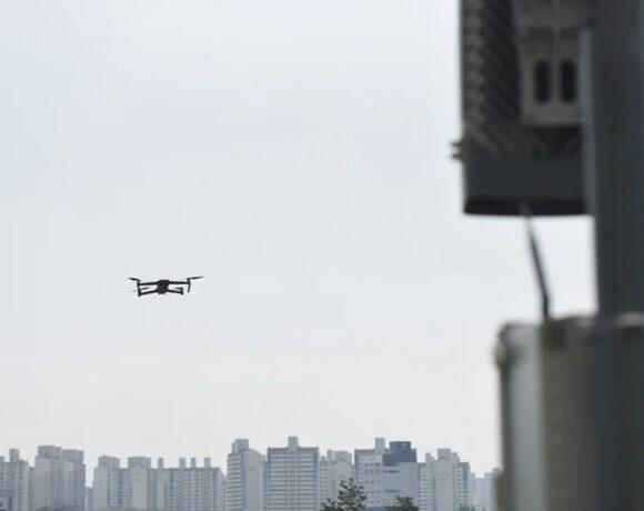 Samsung: Χρησιμοποιεί drones για τη βελτίωση της απόδοσης των δικτύων 5G