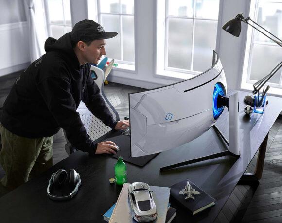 Samsung Odyssey G9 και G7 Gaming Monitor με κυρτότητα 1000R
