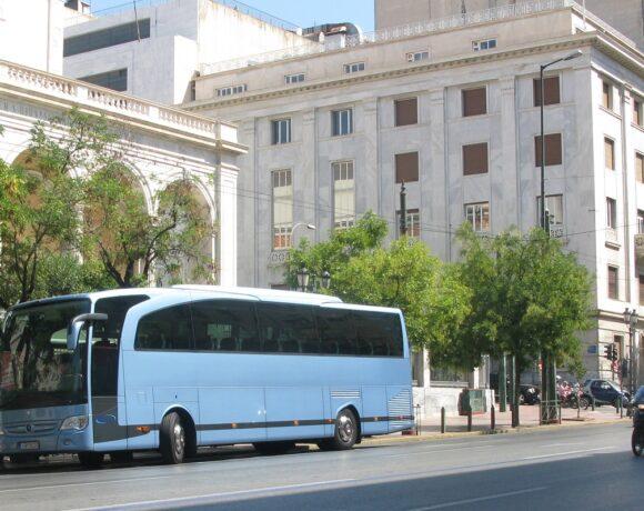 Έκτακτη επιδότηση για την ενίσχυση των επιχειρήσεων τουριστικών λεωφορείων