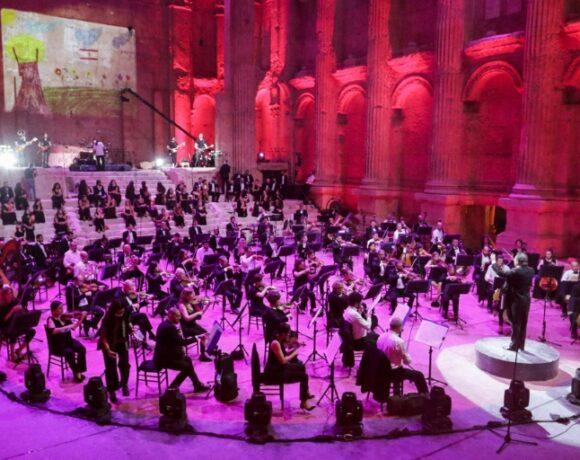 Εντυπωσιακή συναυλία χωρίς κοινό στα ρωμαϊκά ερείπια του Μπααλμπέκ