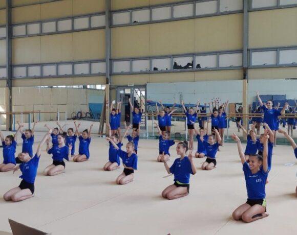 Επιτυχημένα τα καμπ γυμναστικής σε Αθήνα και Θεσσαλονίκη