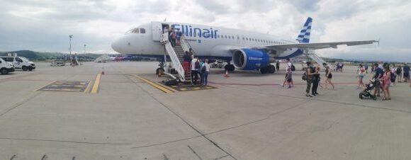 Η πρώτη πτήση της Ellinair με τουρίστες για την φετινή σαιζόν!!!