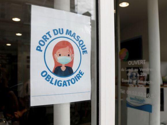 Κοροναϊός – Γαλλία : Μάσκες υποχρεωτικά σε τράπεζες και καταστήματα από τις 20 Ιουλίου