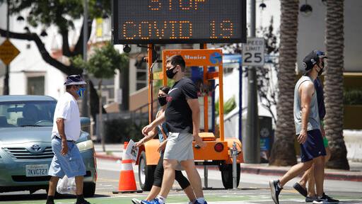 Ο κοροναϊός επιτίθεται στην Καλιφόρνια : Επιστρέφουν τα μέτρα – Κλείνουν καταστήματα, εκκλησίες