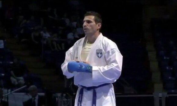 Ο παγκόσμιος Παπαδόπουλος, υποψήφιος πρόεδρος στο καράτε