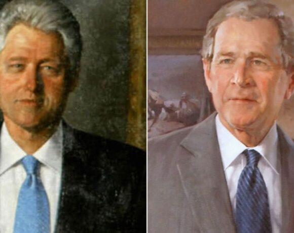 Ο Τραμπ ξήλωσε… τα πορτρέτα των Κλίντον και Μπους από τον Λευκό Οίκο