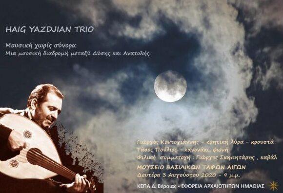 Πανσέληνος 3ης Αυγούστου : «Η Σονάτα του Σεληνόφωτος» στη Μίεζα και «Μουσική χωρίς σύνορα» στις Αιγές