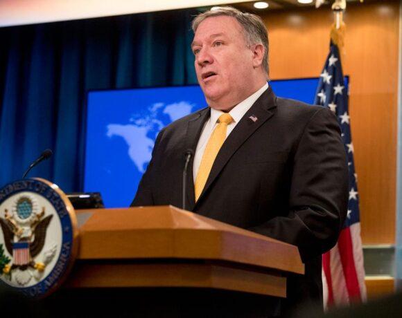 Πομπέο : Οι ΗΠΑ δεν θα παραμείνουν αδρανείς ενόσω η Κίνα περιτυλίγει το Χονγκ Κονγκ