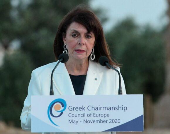 Σακελλαροπούλου: «Ξεχωριστή ευκαιρία για την Ελλάδα η Προεδρία του Συμβουλίου της Ευρώπης»
