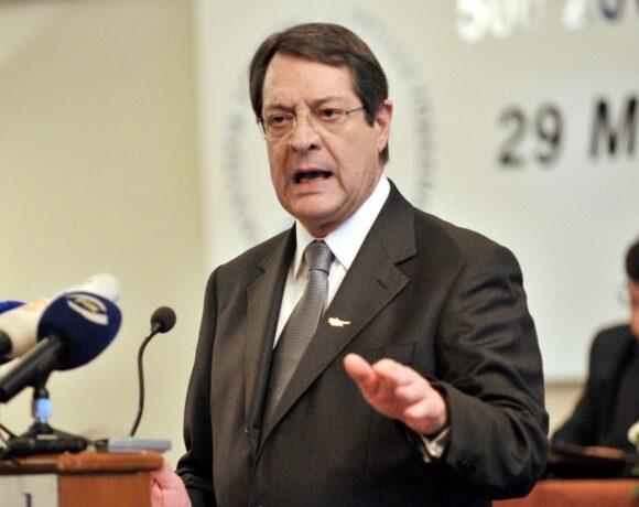 Συγκαλείται συμβούλιο πολιτικών αρχηγών στην Κύπρο