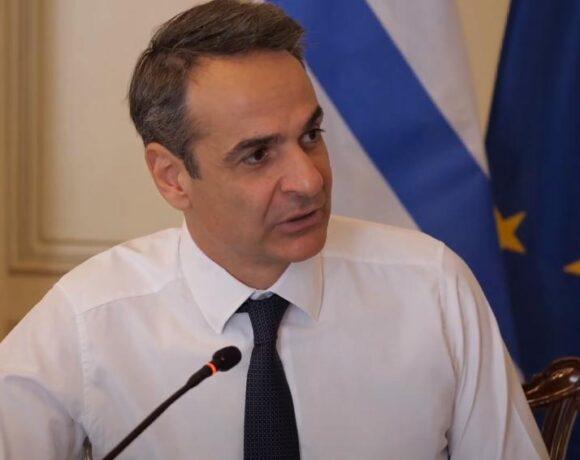 Τους πολιτικούς αρχηγούς ενημερώνει αύριο ο Μητσοτάκης