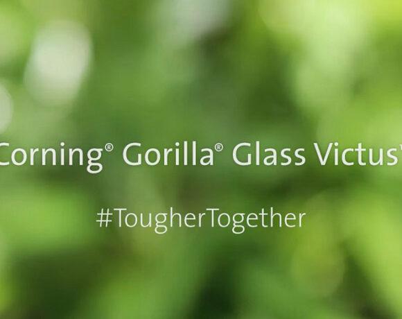 Gorilla Glass Victus: Προσφέρει αντοχή από γρατσουνιές και από πτώσεις έως και 2 μέτρων
