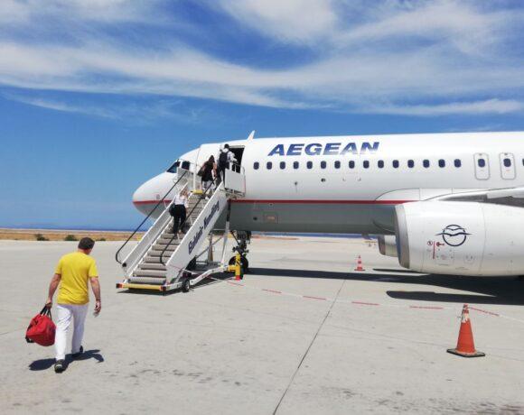 Greece's AEGEAN Says Flight Activity Picking Up