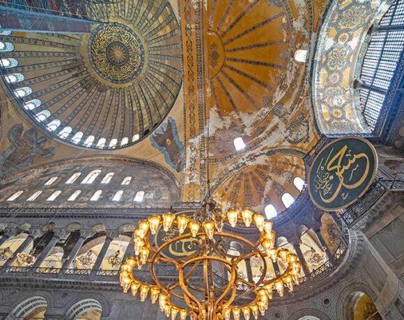 Hurriyet: Με ειδικό φωτισμό θα καλυφθούν οι αγιογραφίες στην Αγία Σοφία