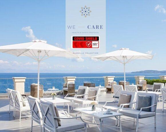 Marbella Corfu Hotel Accredited with TÜV AUSTRIA CoVid-Shield