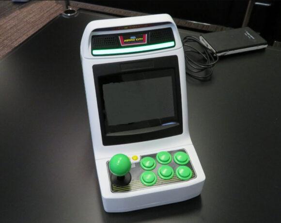 SEGA Astro City Mini: Το φορητό arcade με 36 παιχνίδια!