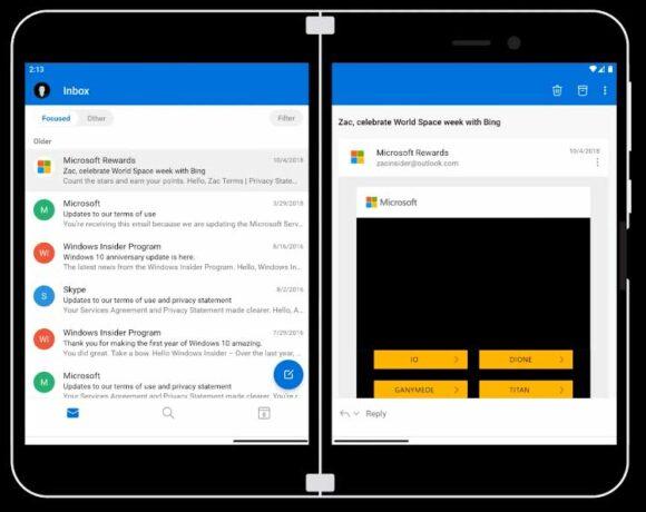 Surface Duo: Ένα tour στο Android UI της συσκευής
