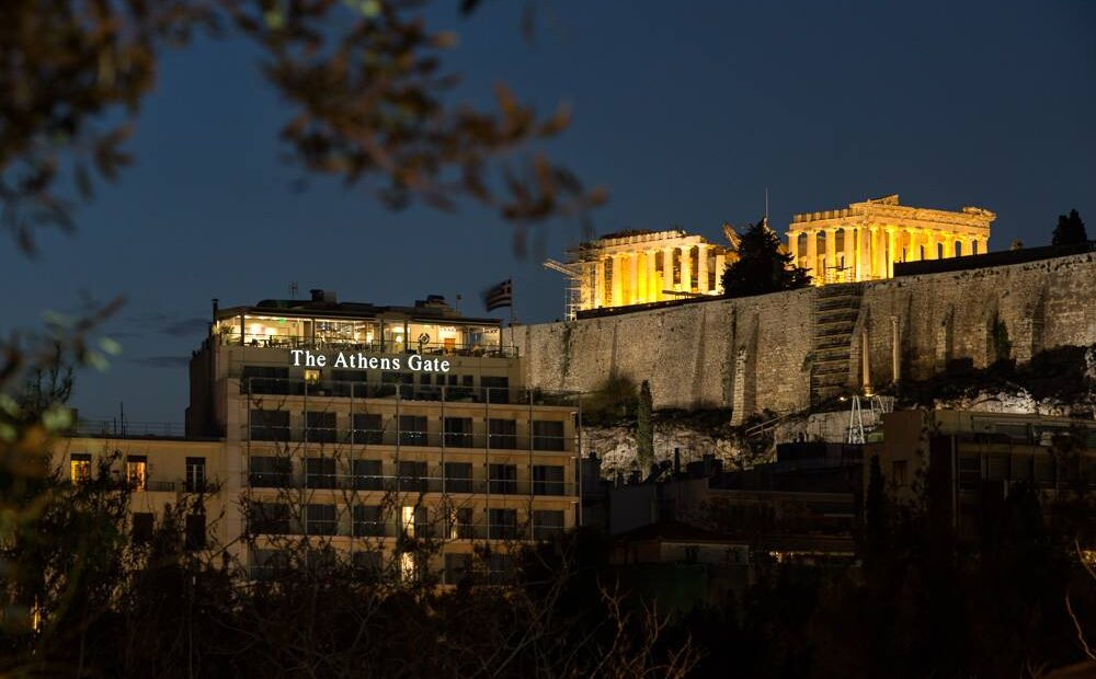 The Athens Gate Hotel Opens its Doors to Guests