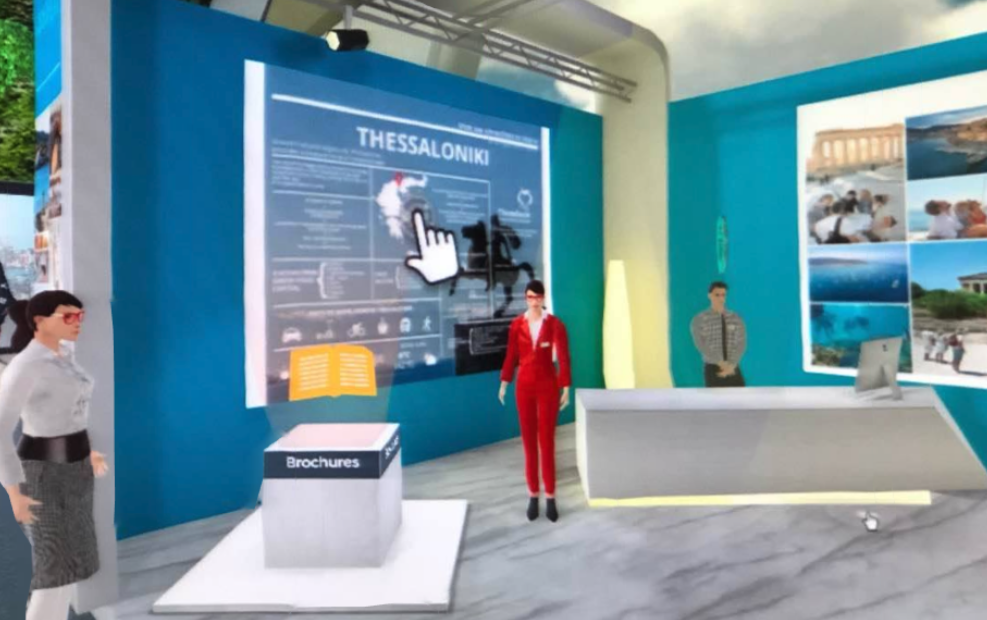 Thessaloniki Promoted at Virtual post-Covid-19 Expo