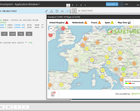 Travelport: Free COVID-19 Smartpoint Plugin for Travel Agencies