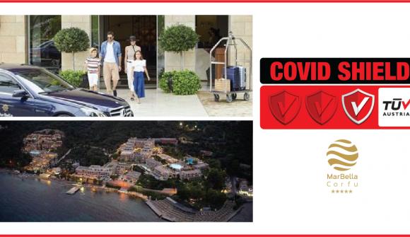 TÜV AUSTRIA CoVid Shield και για το Marbella Corfu Hotel