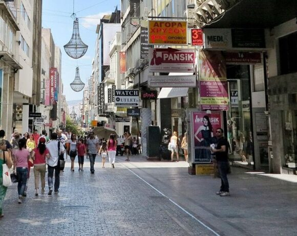 Athens City Center Shops Can Open on Sundays in 2021