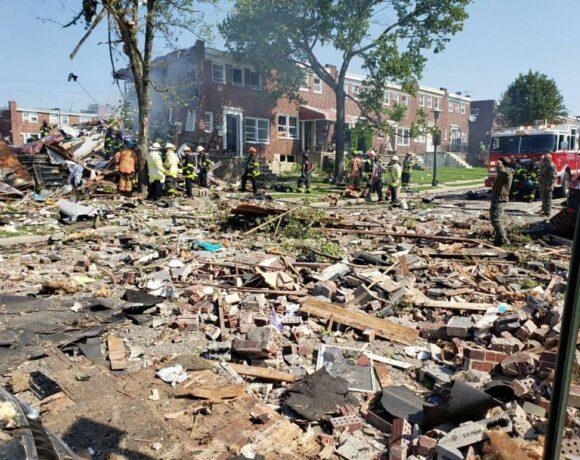 Έκρηξη στη Βαλτιμόρη: Ένας νεκρός και δύο σοβαρά τραυματισμένοι