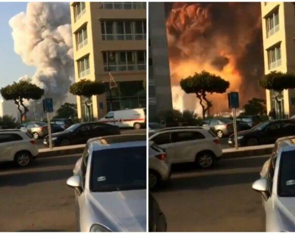 Έκρηξη στη Βηρυτό: Νέες σοκαριστικές εικόνες λίγα μέτρα μακριά από το σημείο μηδέν