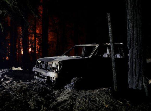 Έξι νεκροί και χιλιάδες εκτοπισμένοι από τις πυρκαγιές στην Καλιφόρνια [Εικόνες]