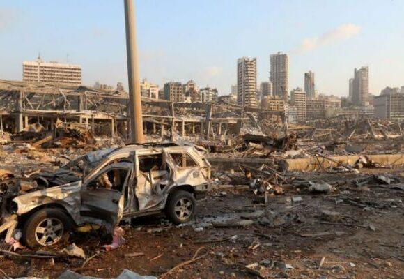 Βηρυτός : Απίστευτες εικόνες από την… Χιροσίμα του Λιβάνου