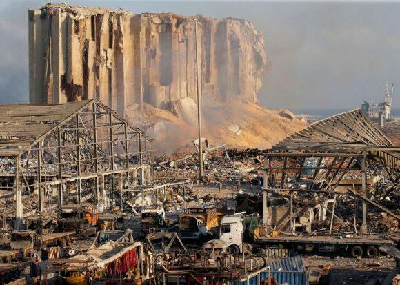 Βηρυτός : Συγκλονιστικό βίντεο δείχνει το μέγεθος της καταστροφής από ψηλά