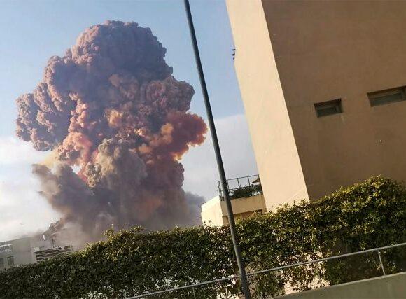 Βηρυτός: Συγκλονιστικό βίντεο καταγράφει σε αργή κίνηση τις φονικές εκρήξεις
