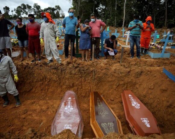 Βραζιλία : Αλλοι 1.271 νεκροί και 47