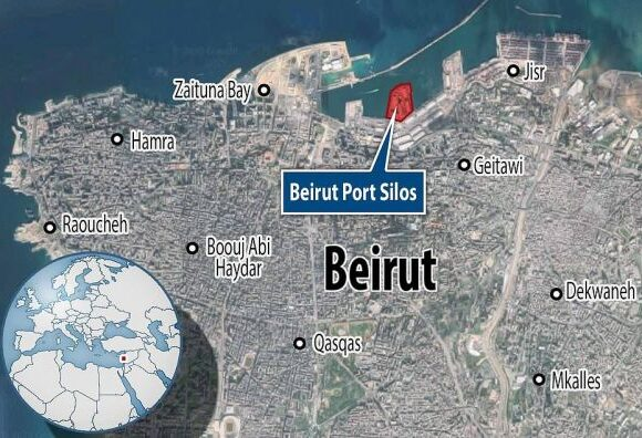 Εικόνες αποκάλυψης στη Βηρυτό : Πάνω από 100 νεκροί και 4