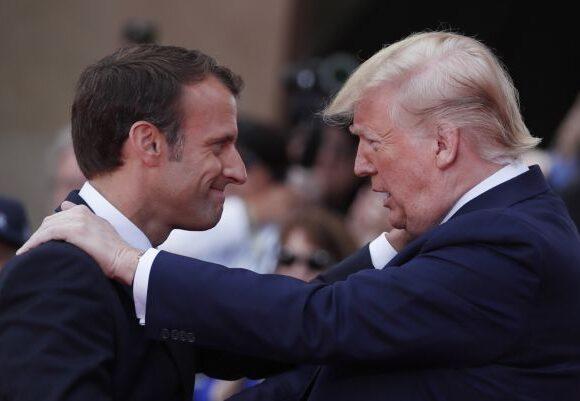 Επικοινωνία Μακρόν – Τραμπ: Θα «επιβάλουμε» την ειρήνη στην Ανατολική Μεσόγειο