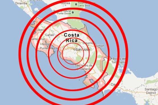 Ισχυρός σεισμός 6 Ρίχτερ ταρακούνησε την Κόστα Ρίκα